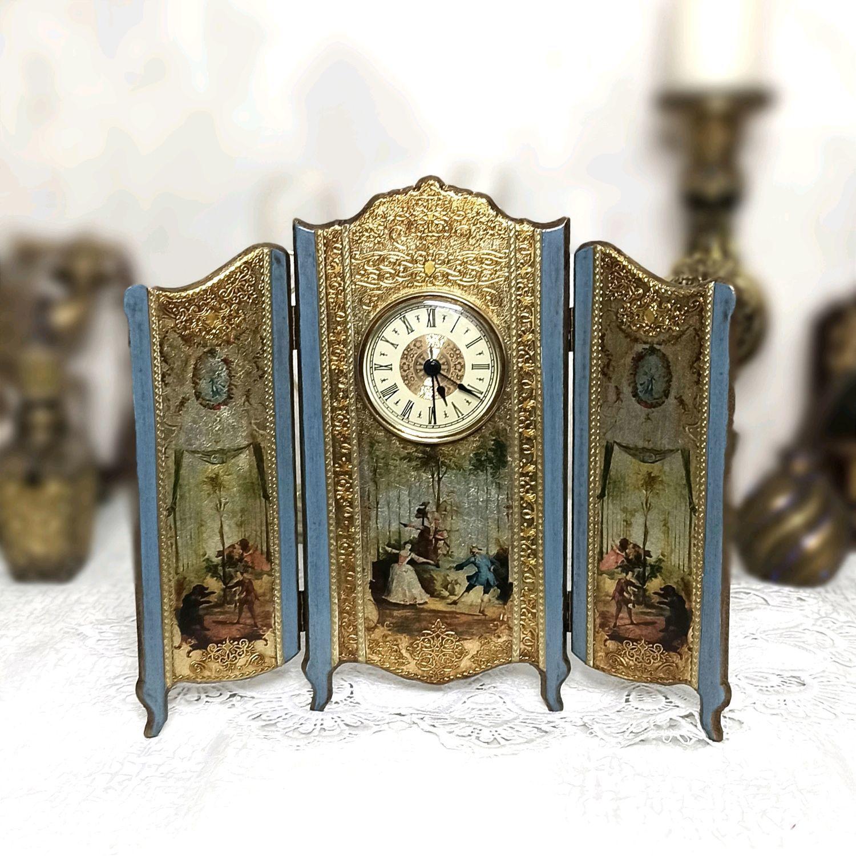 Часы - ширма настольные, Часы классические, Краснодар,  Фото №1