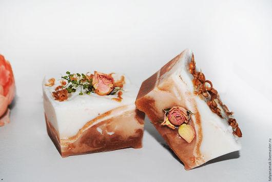 """Мыло ручной работы. Ярмарка Мастеров - ручная работа. Купить Мыло """"Молочная Роза"""" 100 г. Handmade. Кремовый"""