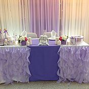 Свадебный салон ручной работы. Ярмарка Мастеров - ручная работа Лавандовое оформление зала. Handmade.