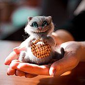 Куклы и игрушки ручной работы. Ярмарка Мастеров - ручная работа Чеширик. Handmade.