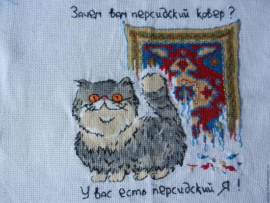 """Животные ручной работы. Ярмарка Мастеров - ручная работа. Купить """"Зачем вам персидский ковёр? У вас есть персидский Я!"""". Handmade."""