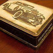 """Сувениры и подарки ручной работы. Ярмарка Мастеров - ручная работа Шкатулка """"The Best Cars"""". Handmade."""