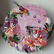 """Для дома и интерьера ручной работы. Ярмарка Мастеров - ручная работа Часы """" На рассвете"""". Handmade."""