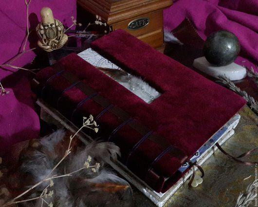 """Блокноты ручной работы. Ярмарка Мастеров - ручная работа. Купить Книга для записей """"Для тепной и светлой"""". Handmade. Комбинированный, блокнот"""