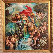 Картины и панно handmade. Livemaster - original item Oil painting Triumph of Fortune. Handmade.