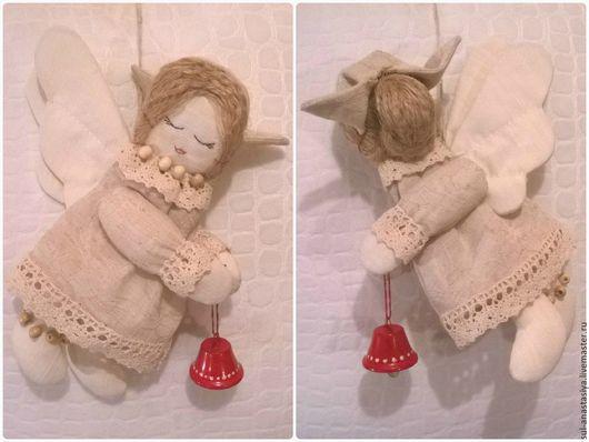 Коллекционные куклы ручной работы. Ярмарка Мастеров - ручная работа. Купить Ангел текстильный Марта. Handmade. Ангел, ангел текстильный