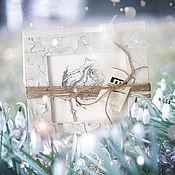 Картины и панно ручной работы. Ярмарка Мастеров - ручная работа картина Роза с надеждой (подарок на праздник ручной работы, мятный). Handmade.