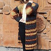 Одежда handmade. Livemaster - original item Cardigan long female. Handmade.