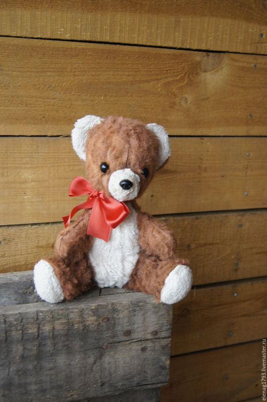 Винтажные куклы и игрушки. Ярмарка Мастеров - ручная работа. Купить Винтажный мишка.. Handmade. Коричневый, старый мишка