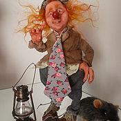 Куклы и игрушки ручной работы. Ярмарка Мастеров - ручная работа Рыжик,эльф-коротышка.. Handmade.