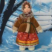 Куклы и игрушки ручной работы. Ярмарка Мастеров - ручная работа Кукла из полимерной глины Варенька. Handmade.