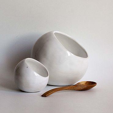 """Для дома и интерьера ручной работы. Ярмарка Мастеров - ручная работа Комплект емкостей для хранения """"Белые солончаки"""". Handmade."""