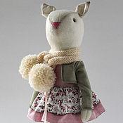 Куклы и игрушки ручной работы. Ярмарка Мастеров - ручная работа Bridjet.Текстильная кошечка.. Handmade.
