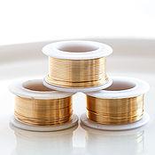 2996 Золотая проволока набор Ювелирная проволока золото Проволока медь