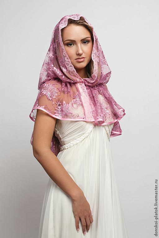 как завязать платок в храм