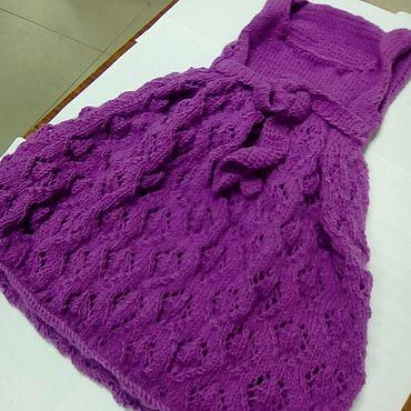Одежда ручной работы. Ярмарка Мастеров - ручная работа Плвтье  для девочки. Handmade.