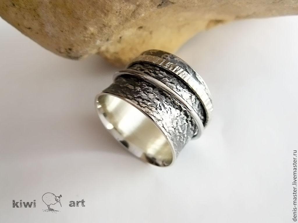 фото кольцо серебряное