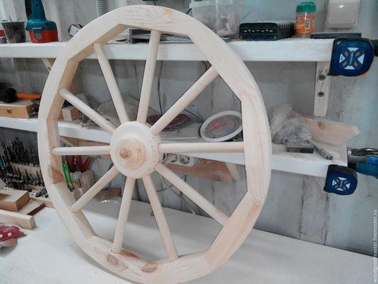 Экстерьер и дача ручной работы. Ярмарка Мастеров - ручная работа. Купить Декоративное колесо от телеги.. Handmade. Дерево, состаренный стиль