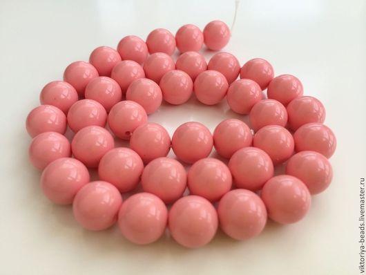 Для украшений ручной работы. Ярмарка Мастеров - ручная работа. Купить Жемчуг майорка розовый бусины (не перламутровый). Handmade.