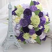 """Цветы и флористика ручной работы. Ярмарка Мастеров - ручная работа """"Она была в Париже!..."""". Handmade."""