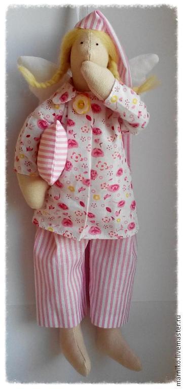 Куклы Тильды ручной работы. Ярмарка Мастеров - ручная работа. Купить Сонный ангел. Handmade. Тильда, хлопок 100%