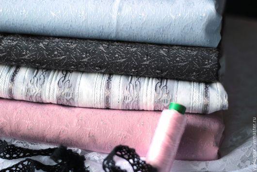 Шитье ручной работы. Ярмарка Мастеров - ручная работа. Купить Набор тканей с тиснением. Переливы цвета. Handmade. Ткань для рукоделия