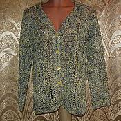 Одежда ручной работы. Ярмарка Мастеров - ручная работа Жакет. Handmade.