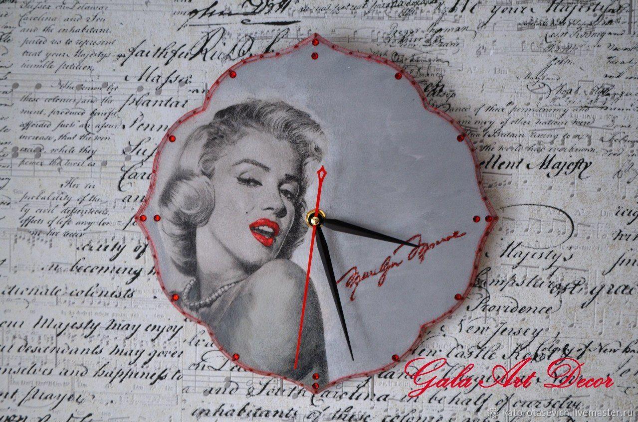 Картинки с мерлин монро часы