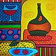 Абстракция ручной работы. Ярмарка Мастеров - ручная работа. Купить Вишневый ликер. Handmade. Комбинированный, вино, кухня, вишня