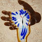 Часы классические ручной работы. Ярмарка Мастеров - ручная работа Часы: Время течёт.. Handmade.
