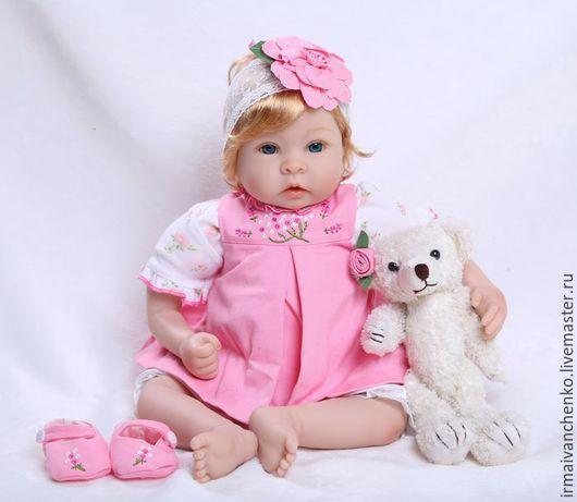 Так может выглядеть кукла в готовом виде.