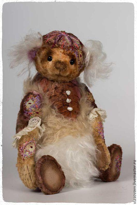 Мишки Тедди ручной работы. Ярмарка Мастеров - ручная работа. Купить Мишка Катарина. Handmade. Комбинированный, вера власова