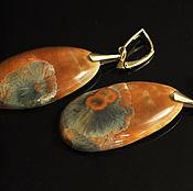 Украшения handmade. Livemaster - original item Porcelain earrings. Handmade.