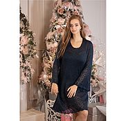 Одежда handmade. Livemaster - original item Mohair knitted dress Ladi. Handmade.