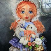 Куклы и игрушки ручной работы. Ярмарка Мастеров - ручная работа Текстильная кукла Николь. Handmade.
