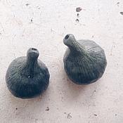 Посуда ручной работы. Ярмарка Мастеров - ручная работа Маленькие синие инжиры. Handmade.