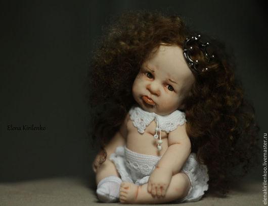 """Коллекционные куклы ручной работы. Ярмарка Мастеров - ручная работа. Купить """"Ни - че-го я не хо-чу!"""" повтор.. Handmade."""