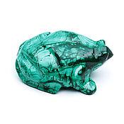 Денежная жаба из натурального камня