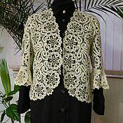 Одежда handmade. Livemaster - original item Jacket with Yeletsky flower.. Handmade.