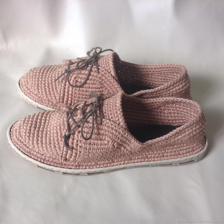 Обувь ручной работы. Ярмарка Мастеров - ручная работа. Купить Слипы мужские весна-осень. Handmade. Бежевый, стильная обувь