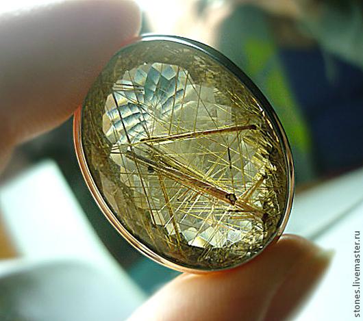 """Кольца ручной работы. Ярмарка Мастеров - ручная работа. Купить Кольцо """"КРУЖЕВА СТРАСТИ"""",кварц-волосатик.. Handmade. Серебряный"""