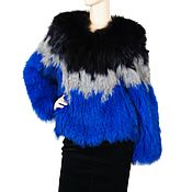 Одежда handmade. Livemaster - original item Braided jacket made of natural Fox fur. Handmade.