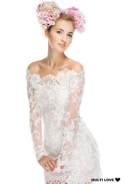 965f85ff3d6 Модное тут! — Белое кружевное платье доставка