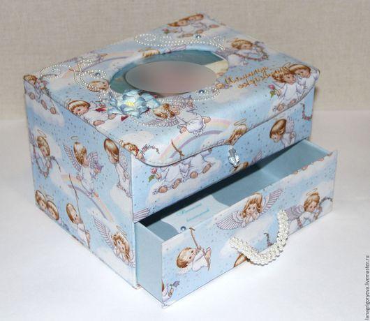 Подарки для новорожденных, ручной работы. Ярмарка Мастеров - ручная работа. Купить Комодик мамины сокровища. Handmade. Разноцветный, комодик