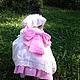 """Одежда для девочек, ручной работы. Ярмарка Мастеров - ручная работа. Купить Летнее платье для девочки """"Мечта"""". Handmade. Разноцветный, бант"""