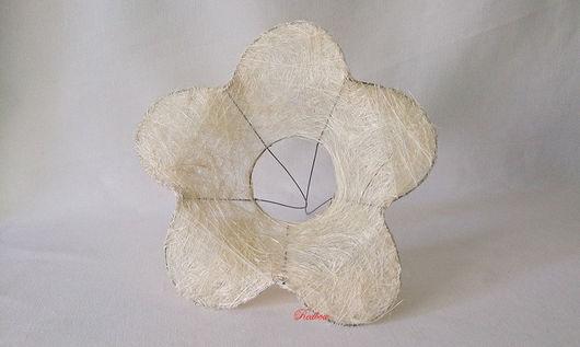 Каркас `Цветок` с круглыми лепестками Ц1