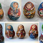 Русский стиль ручной работы. Ярмарка Мастеров - ручная работа Неваляшки. Handmade.