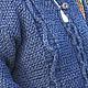 Верхняя одежда ручной работы. Пальто вязаное с капюшоном и кармашками. Holmiks. Интернет-магазин Ярмарка Мастеров. Пальто, падарок