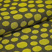 Материалы для творчества ручной работы. Ярмарка Мастеров - ручная работа Жаккард  шелковый CHANEL серо-желтый. Handmade.