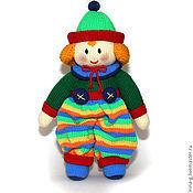 """Куклы и игрушки ручной работы. Ярмарка Мастеров - ручная работа Вязаный клоун """"Руди"""". Handmade."""